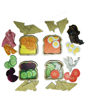 Tuzzles Sandwich Layered Puzzles - Set of 4