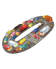 Tuzzles Road Transport Floor Puzzle - 36pcs