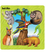 *SPECIAL: Tuzzles Regions of Australia Puzzle - Bush 25pcs