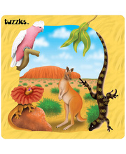 *SPECIAL: Tuzzles Regions of Australia Puzzle - Outback  25pcs