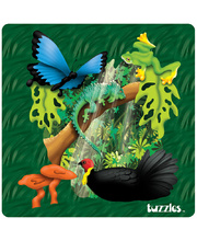 *SPECIAL: Tuzzles Regions of Australia Puzzle - Rainforest 25pcs