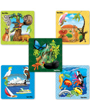 *SPECIAL: Tuzzles Regions of Australia Puzzles - Set of 5