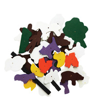 Tap Tap Wooden Pieces - Farm Shapes 150pcs