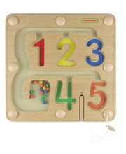 Masterkidz 1 to 5 Numbers Learning Magnetic Maze