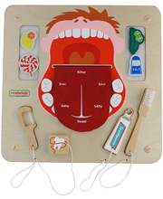 Masterkidz Wall Elements - Oral Care Learning Board