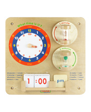 Masterkidz Wall Elements - Time Learning Board