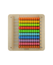 Masterkidz Wall Elements - 1 to 100 Counting Beads Board