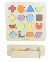 Masterkidz Wall Elements - Magnetic Shape Matching Board