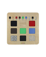 Masterkidz Wall Elements - Tactile Training Board