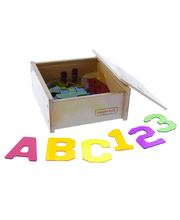 Masterkidz Translucent Numbers & Letters Set - 38pcs