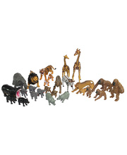 *Zoo Animal Collection - 29pcs