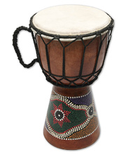 Multicultural Djembe Drum - 25cm