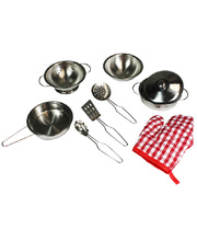 Stainless Steel Cookware Set - 9pcs