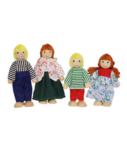 Bendable Doll Families - European Set of 4
