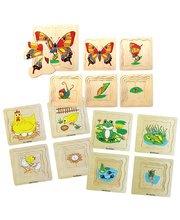 Layered Life Cycle Puzzles - Set of 3