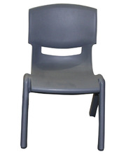 Billy Kidz Resin Stackable Chair Grey - 26cm