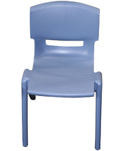 Billy Kidz Resin Stackable Chair Blue/Grey - 30cm
