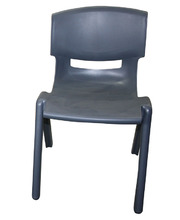 Billy Kidz Resin Stackable Chair Grey - 33.5cm