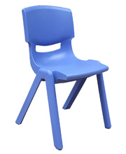 Billy Kidz Resin Stackable Adult Chair 44cm - Blue