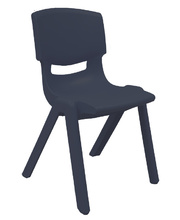 Billy Kidz Resin Stackable Chair Adult - Grey 44cm