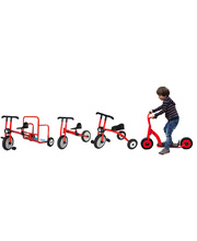 Billy Kidz Set of Trikes, Bikes & Scooters - 4pcs