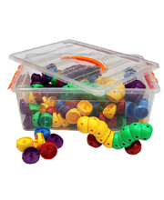 @Billy Kidz Construction Set - Worm Connectors 160pcs