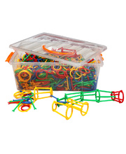Billy Kidz Construction Set - Arms & Loops 1208pcs