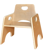 Billy Kidz Stackable Wooden Toddler Chair - 25cmH