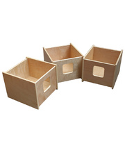 Billy Kidz Movable Storage Bins - 3pcs
