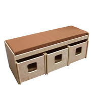 Billy Kidz Sofa Bench with Three Storage Bins
