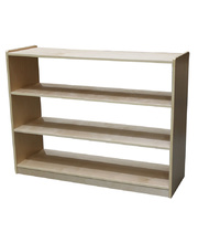 Billy Kidz Birch Medium Storage Unit 76cmH - 3 Shelf Cabinet Open Back