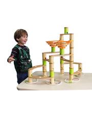 Jumbo Bamboo Marble Run - 138pcs