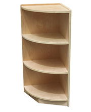 Billy Kidz Birch Medium Shelf Unit 76cmH - Corner