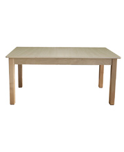 Billy Kidz Wooden Table With Birch Laminate Top - Rectangle 1200 x 750mm 50cmH