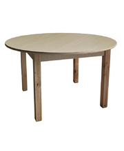 Billy Kidz Wooden Table With Birch Laminate Top - Round 900 x 900mm 56cmH