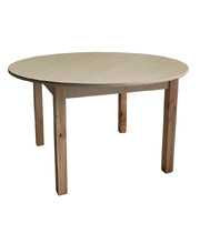 Billy Kidz Wooden Table With Birch Laminate Top - Round 1100 x 1100mm 45cmH