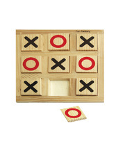Timber Noughts and Crosses Game