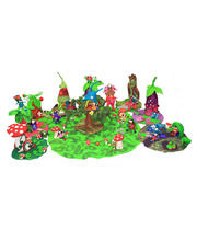 Fairy Felt Home & Fairy Set - Large Set 37pcs