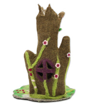 Fairy Felt Enchanted Tree Home