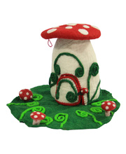 Fairy Felt Gnome Home