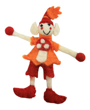 Elf Fairy Felt - Toadstool