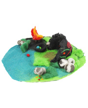 Fairy Felt Dragon Cave