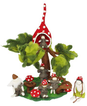 Fairy Felt Gnome Family Tree Set