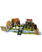 Felt Country Town Complete Set