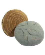 Felt Smartie Seat - Natural - Set of 4 (2 of each)