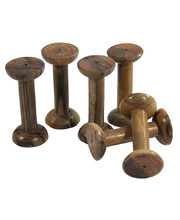 Wooden Spools - 6pcs