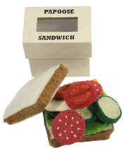 Felt Sandwich & Toppings - 12pcs