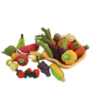 Felt Fruit & Vegetable Set