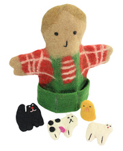 Felt Hand & Finger Puppet Set - Old MacDonald