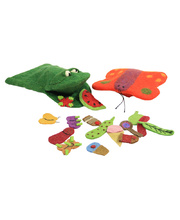 Felt Hand & Finger Puppet Set - Hungry Caterpillar